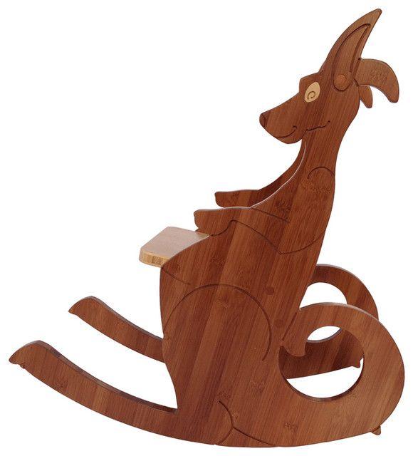 Kangaroo Rocking Chair, Small Modern Kids Chairs Gallery
