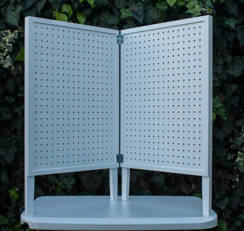 pegboard table top display pacific woodworking supplies equipment displays