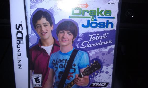 "USED Excellent Condition ""Drake & Josh Talent Show"" Nintendo DS Game"
