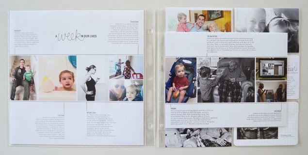 greenfingerprint | simple + modern design: project life | week 13