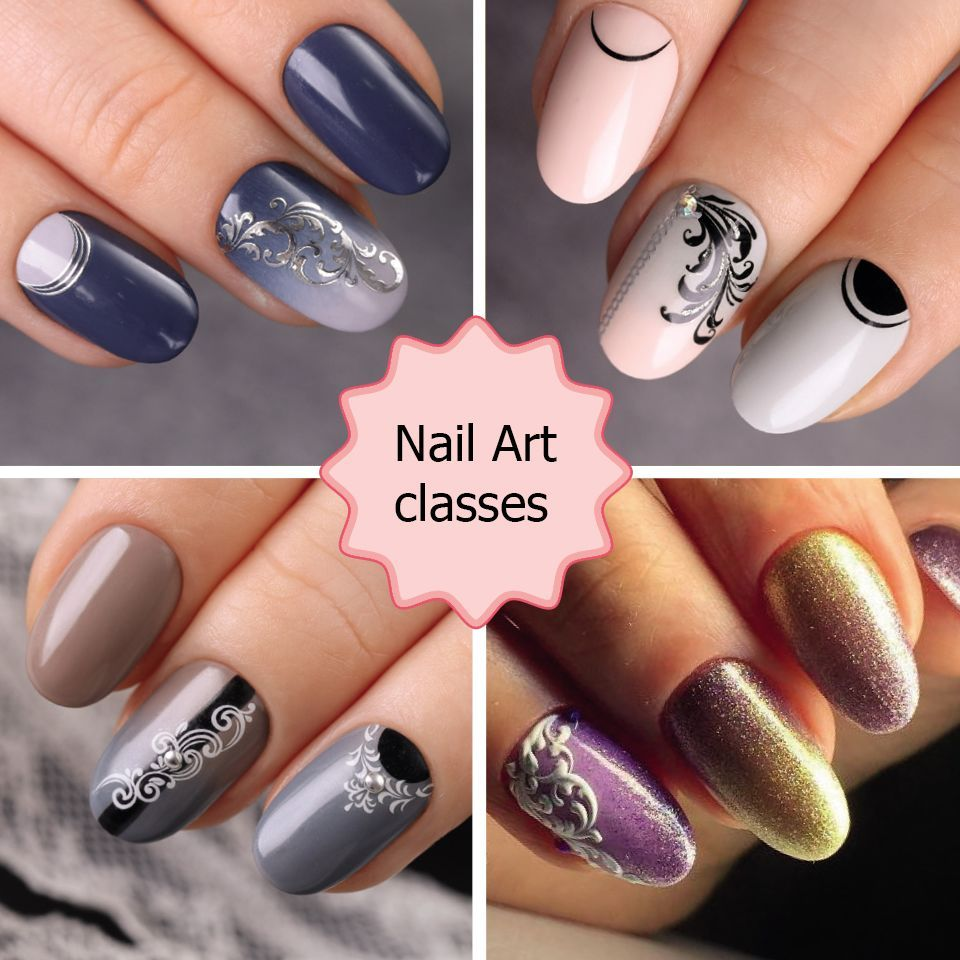 Lear Nail Art With Emi School In Dubai Learn How To Do Decorative Manicure And Designs During 2 Day Course Training Nails