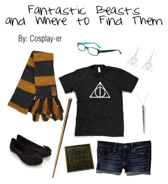"""Fantastic Beasts"" by cosplay-er ❤ liked on Polyvore featuring American Eagle Outfitters and Accessorize"