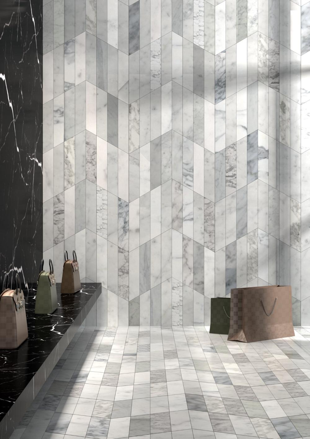 Marble Wall Floor Tiles Dedalo By Monitillo Marmi Design Claesson Koivisto Rune In 2020 Wall Tiles Design Bathroom Wall Tile Design Tile Design Pattern