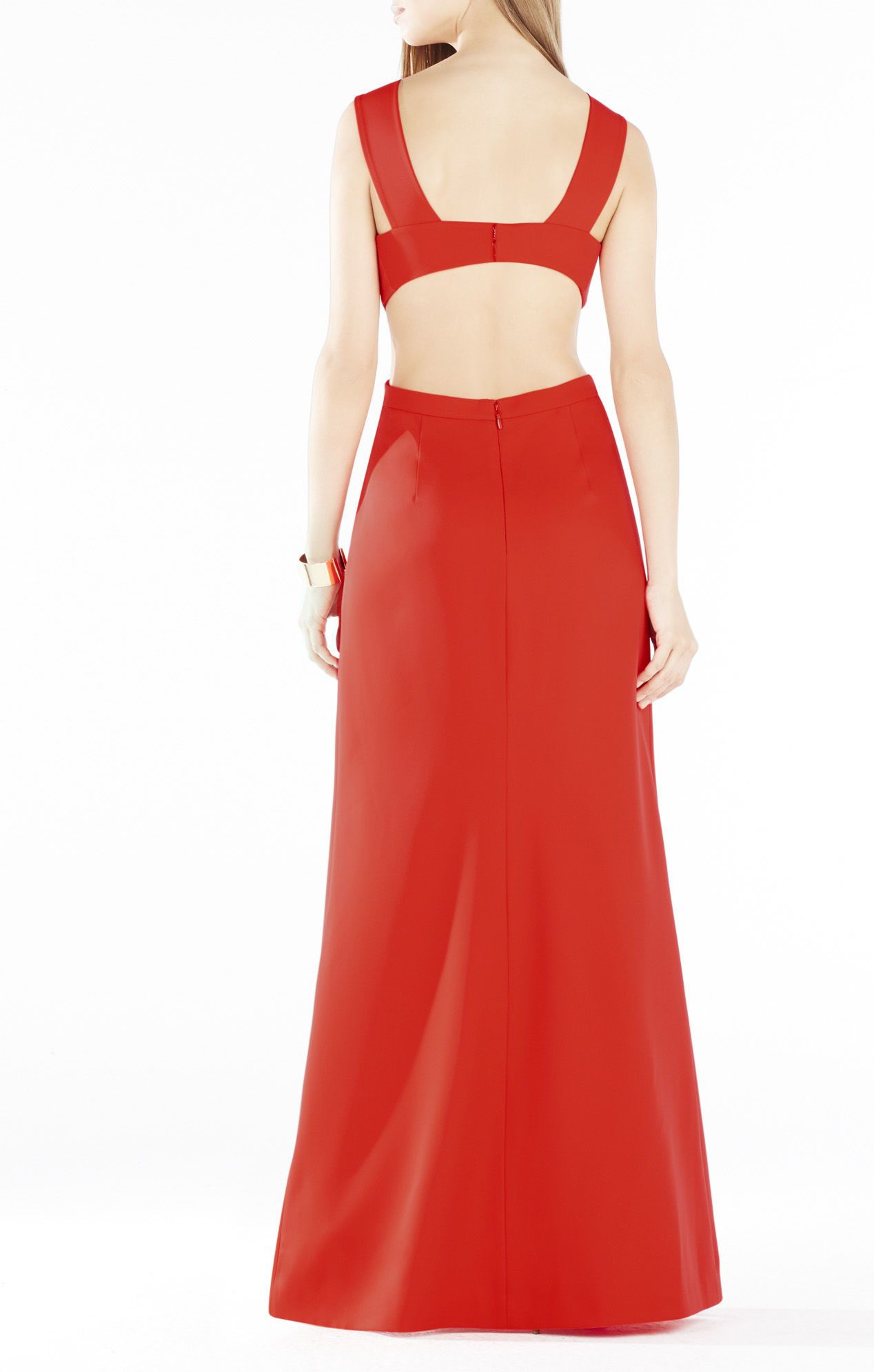 Kiara Sleeveless Peplum Gown