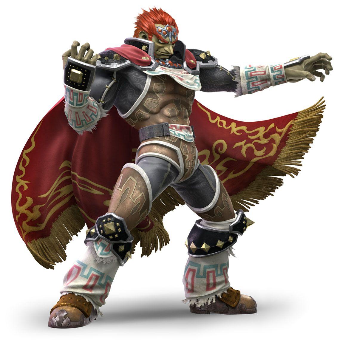 Ganondorf from Super Smash Bros. Ultimate #illustration # ...