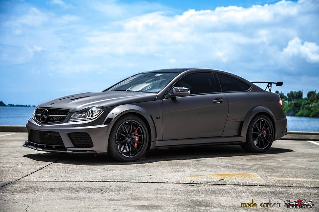 mercedes benz c63 amg black series trio by mode carbon mbhess mbcars