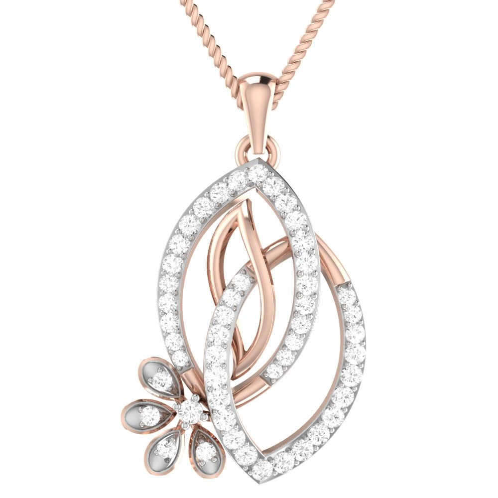 K rose gold over sterling silver ct diamond double marquise