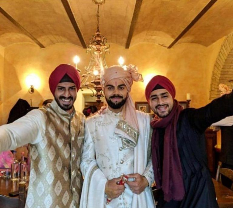 Virat Kohli Wedding.Hottest Safa Trends For 2019 Every Groom Must Know About Safa
