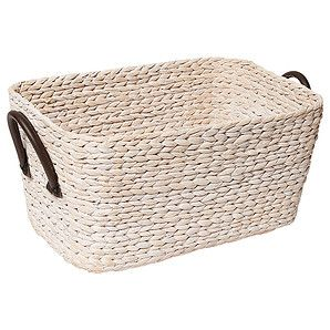 Laundry Bag Target Hyacinth Large Basket With Handles  White Wash  Target Australia