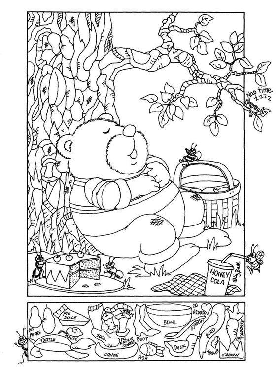Hidden Pictures Publishing: Hidden Picture Puzzle by Liz