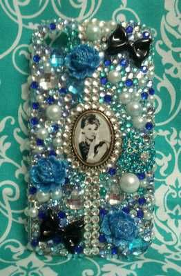 IPhone Case - Breakfast @ Tiffany's - custom designed cell phone cases ANY style of case.     www.facebook.com/CrystallizedBLING