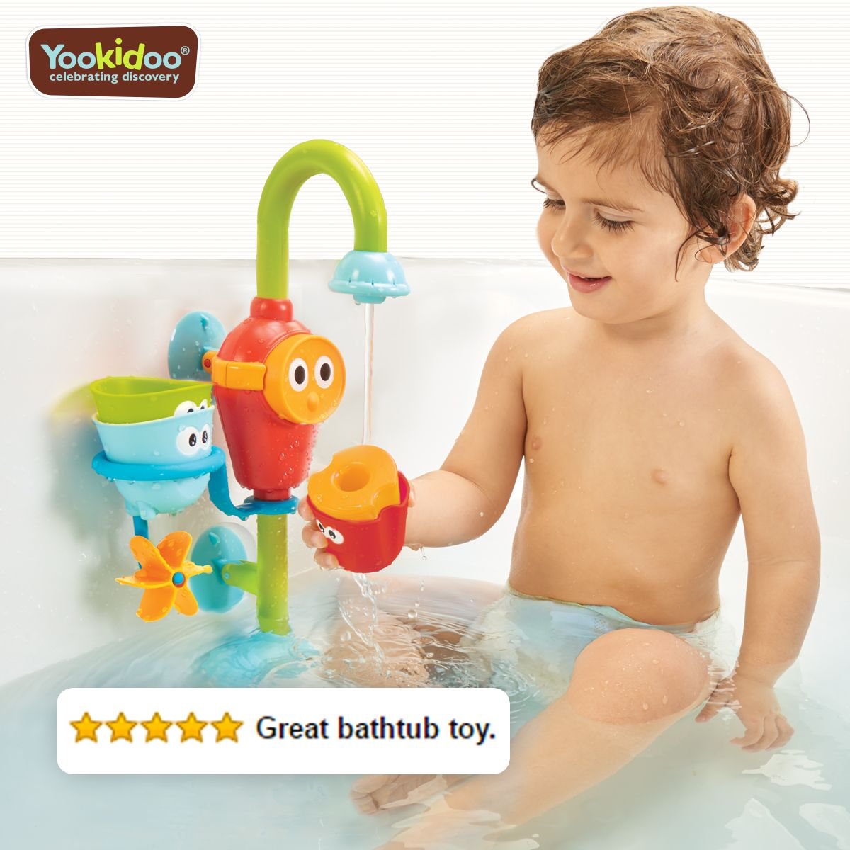 Best bathtub toy, available at Baby bath