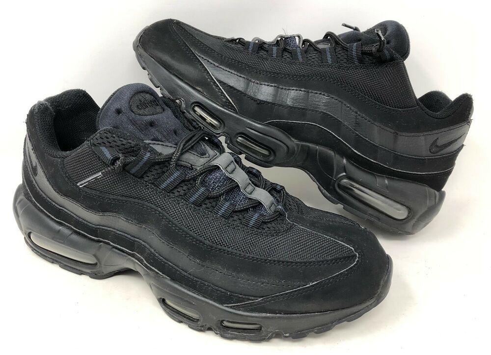 brand new 5c4ba 22eeb RARE Nike Air  95 Premium Black Anthracite Triple Blackout 12 609048-092   Nike  RunningCrossTraining