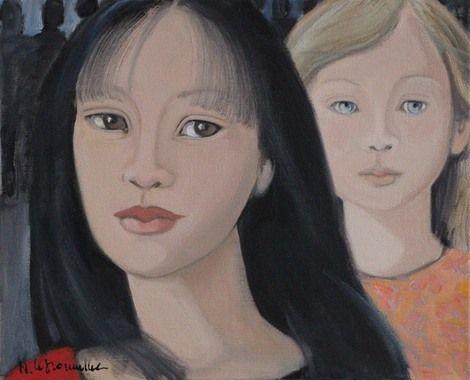 Nicole Le Groumellec, Observateur Observé 2 on ArtStack #nicole-le-groumellec #art
