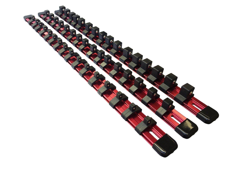 Review Olsa Tools   3 Pcs Kit Aluminum Socket Organizer ...
