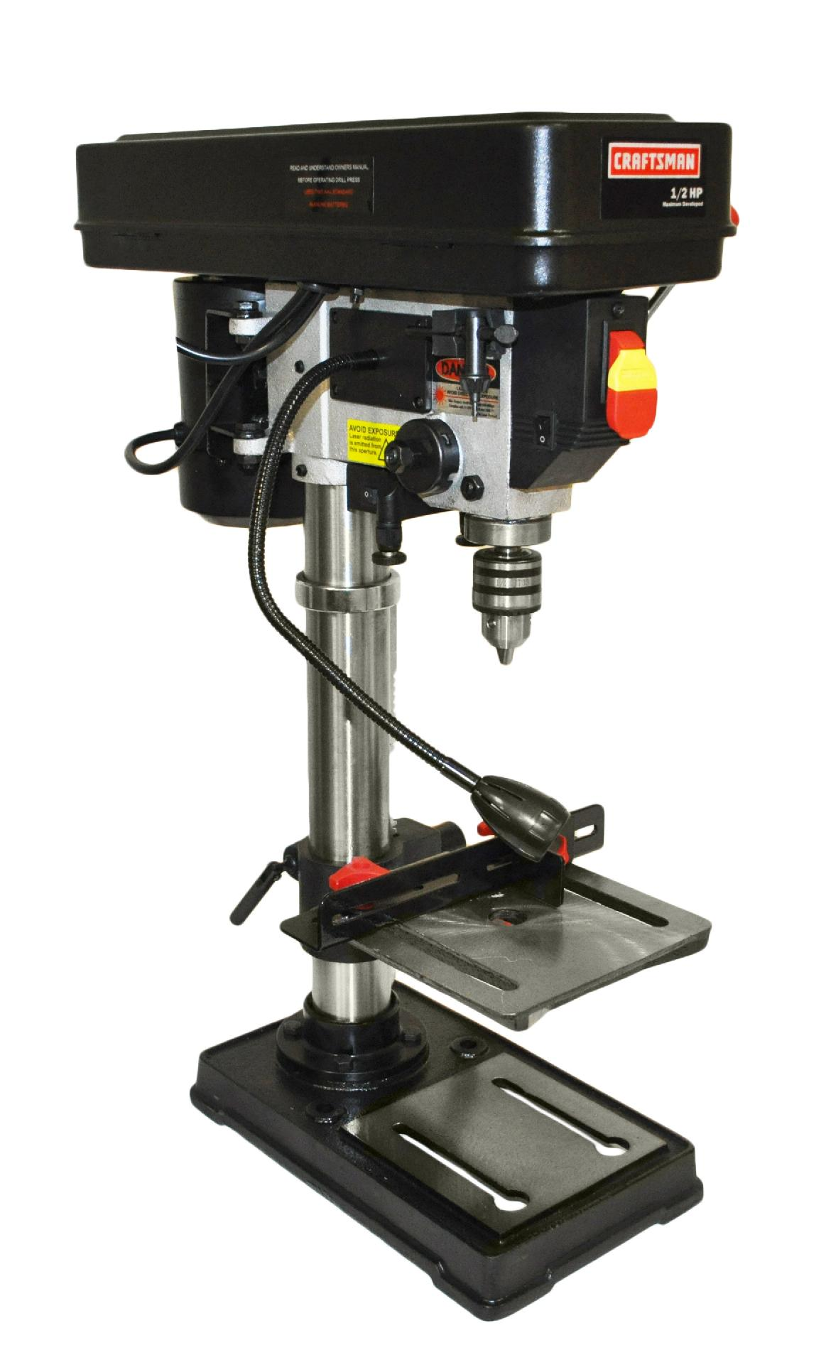 10 Bench Drill Press With Laser A Perfect Hole In One Try At Sears Drill Press Drill Presses Drill