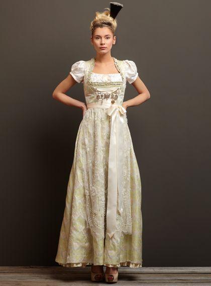 Trentini Couture Hochzeitskleid Dirndl Dirndl Brautkleid Dirndl Hochzeit
