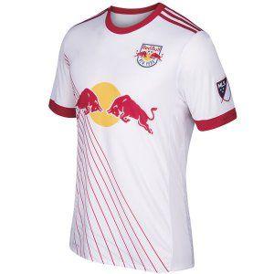 New York Red Bulls 17-18 Season Home White Shirt MLS Jersey New York Red  Bulls 17-18 Season Home White Shirt MLS Jersey | Cheap New York Red Bulls  Shirts ...