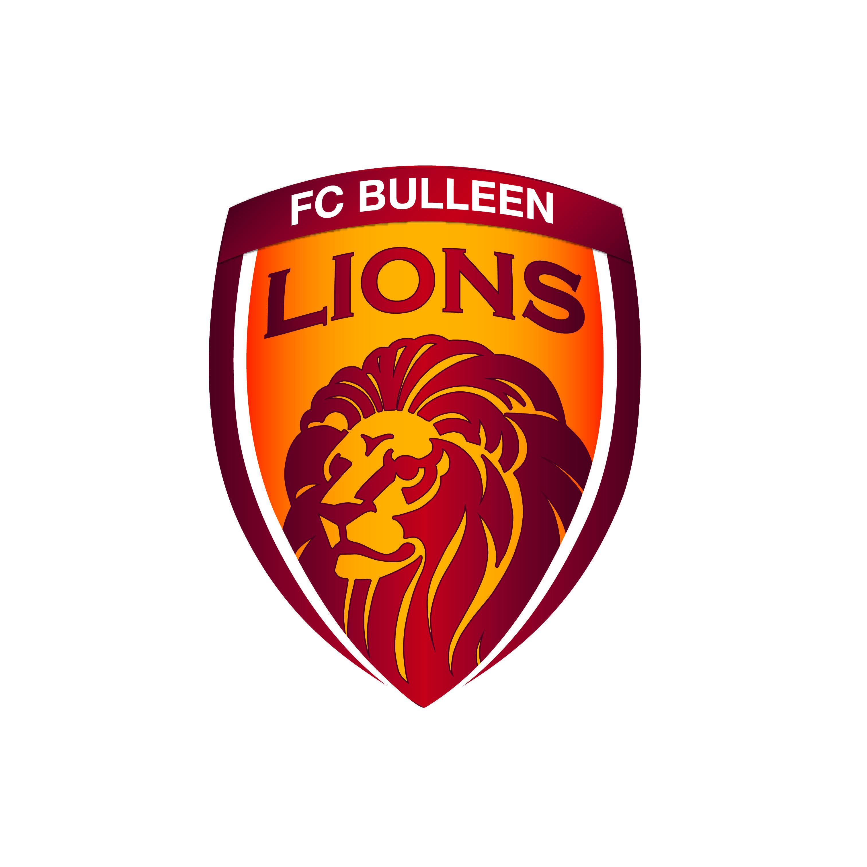 FC Bulleen Lions Football club soccer logo design by