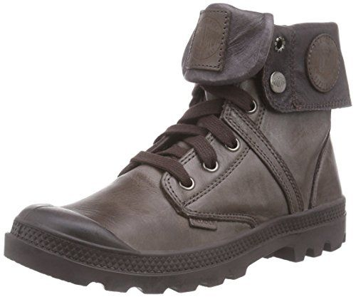 Palladium Pallabrouse Baggy, Damen Desert Boots, Grau (Vapor/Metal), 37.5 EU (4.5 Damen UK)