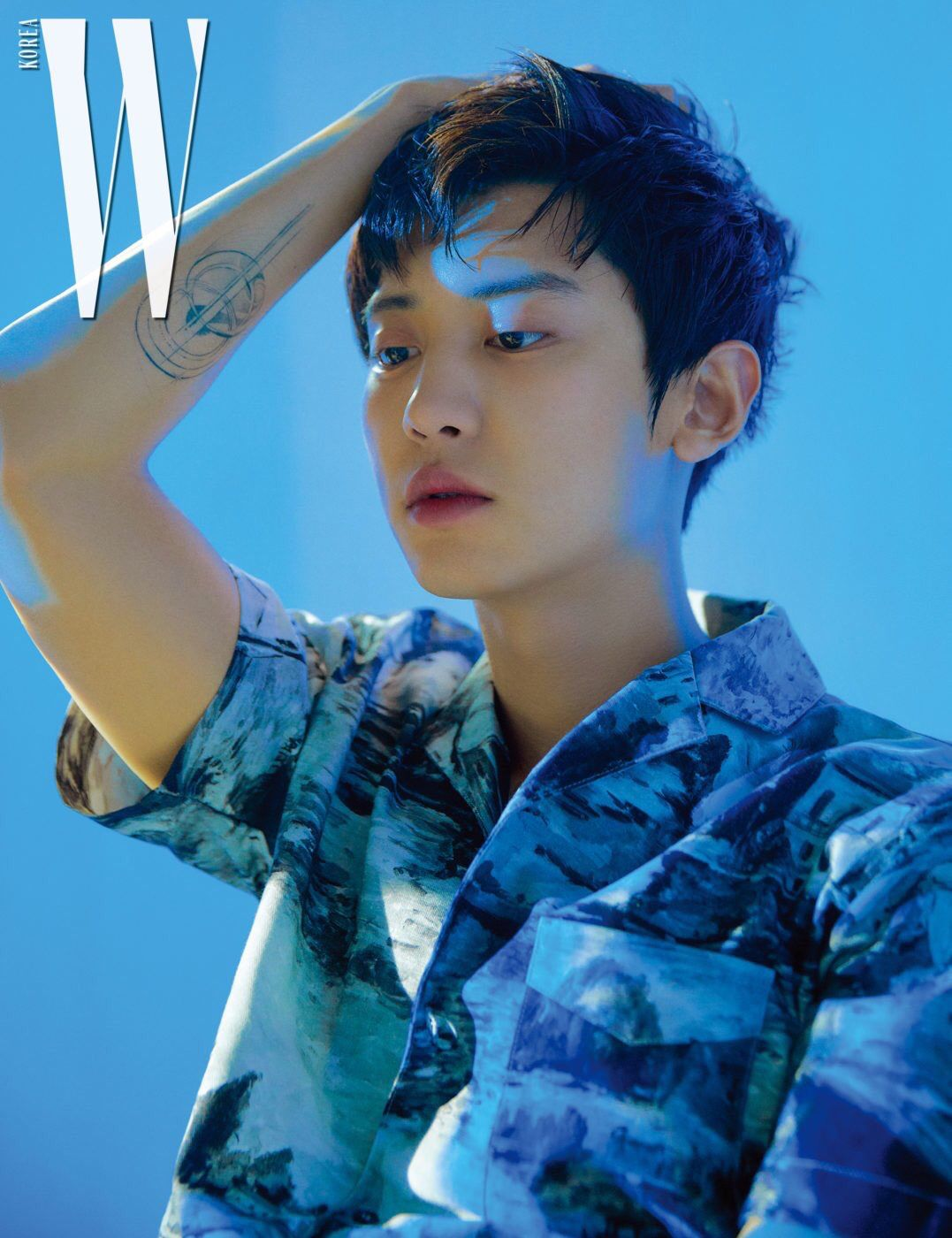 Chanyeol 190228 W Korea Magazine March 2019 Issue Exo