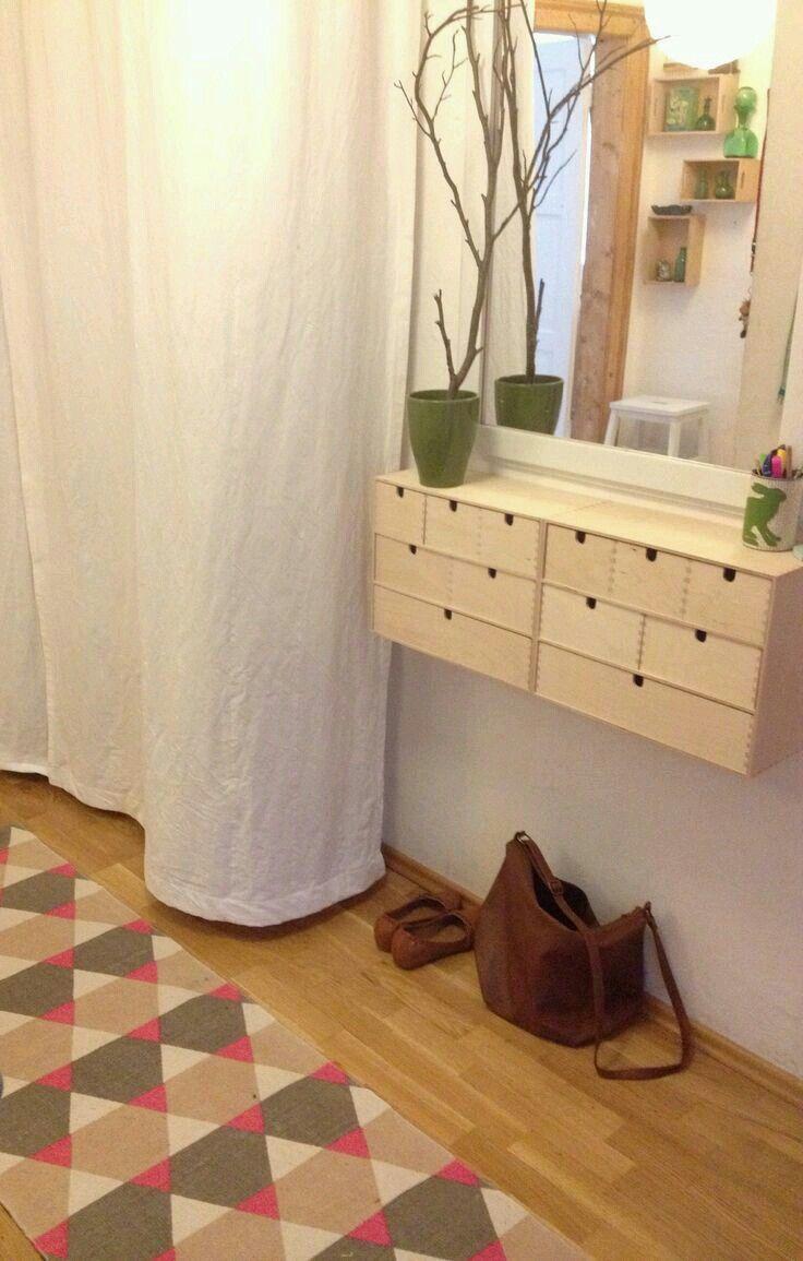vanity built in using ikea moppe home bathroom pinterest maison mobilier de salon et. Black Bedroom Furniture Sets. Home Design Ideas