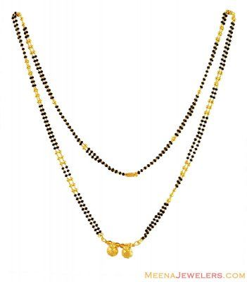 22k Traditional Long Mangalsutra Mangalsutras In 2019