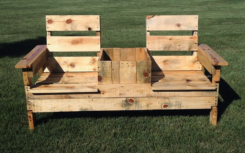 Pallets Outdoor Garden Bench Wood Pallet Recycling Wood Pallets Pallet Diy
