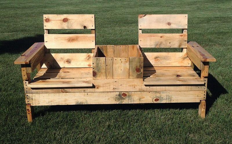 Pallets Outdoor Garden Bench Cleaning Restore Pinterest