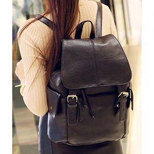 ba0eac28d Outreo Mochilas Escolares Mujer Bolso Cuero Bolsos Mochila de Viaje bolsos  de Piel para Colegio Vintage