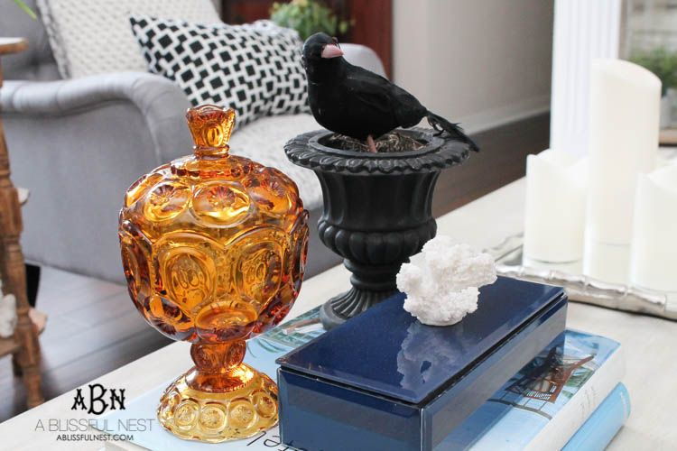20 Ways to Decorate for Halloween + A Home Tour Decorating, Nest - when should you decorate for halloween