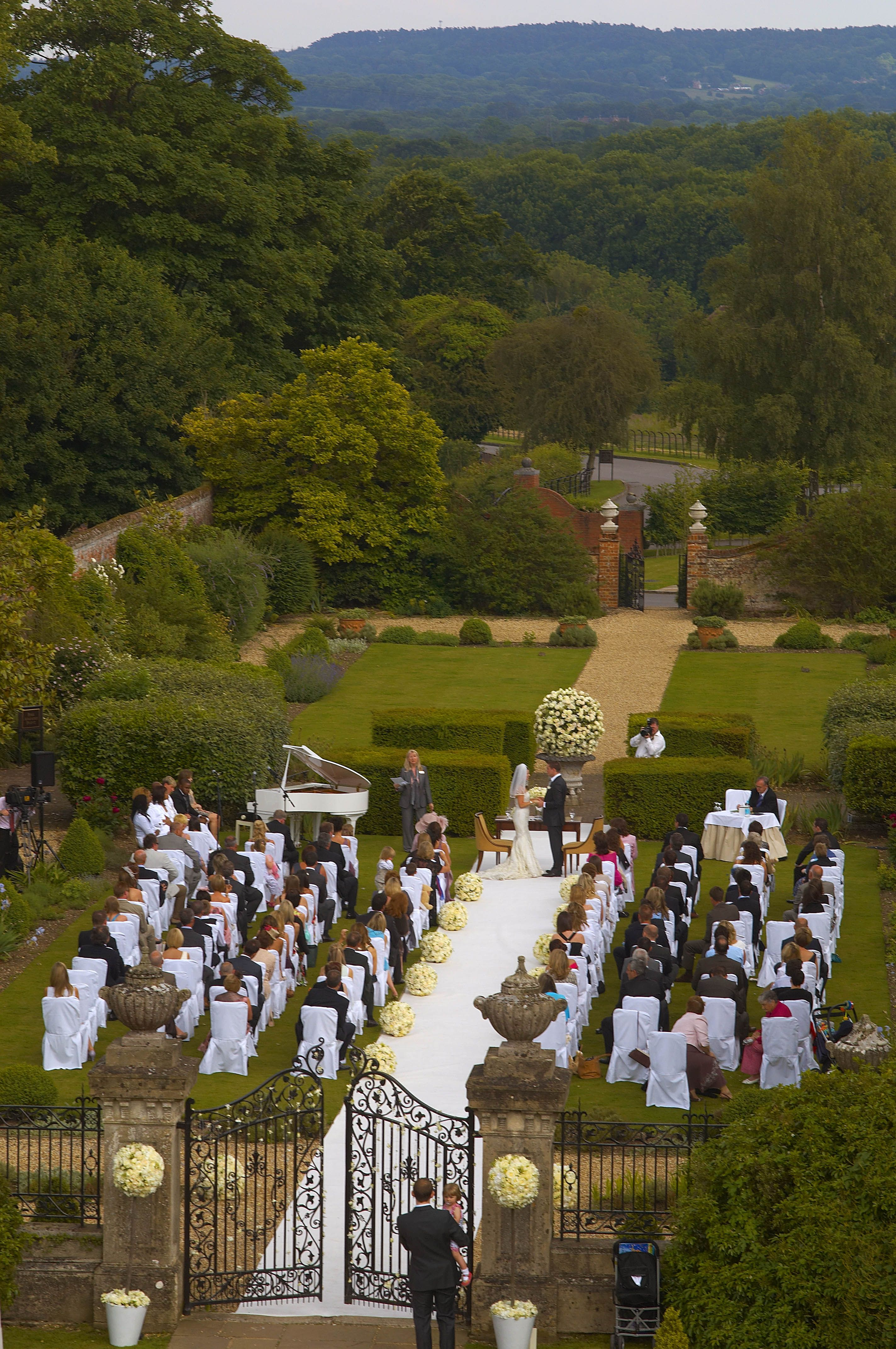 Real Weddings: A beautiful 3 day outdoor wedding | Reception ...