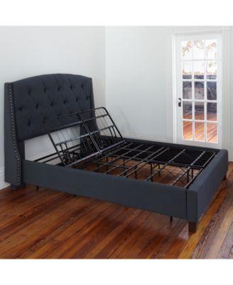 Best Sleep Trends Adjustable 14 Metal Bed Frame King 400 x 300