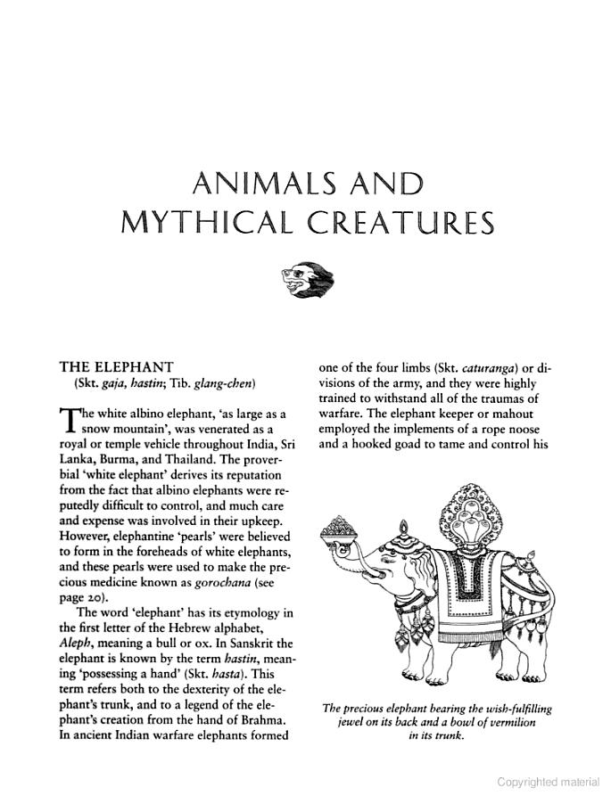 The Handbook Of Tibetan Buddhist Symbols Elephant Energy
