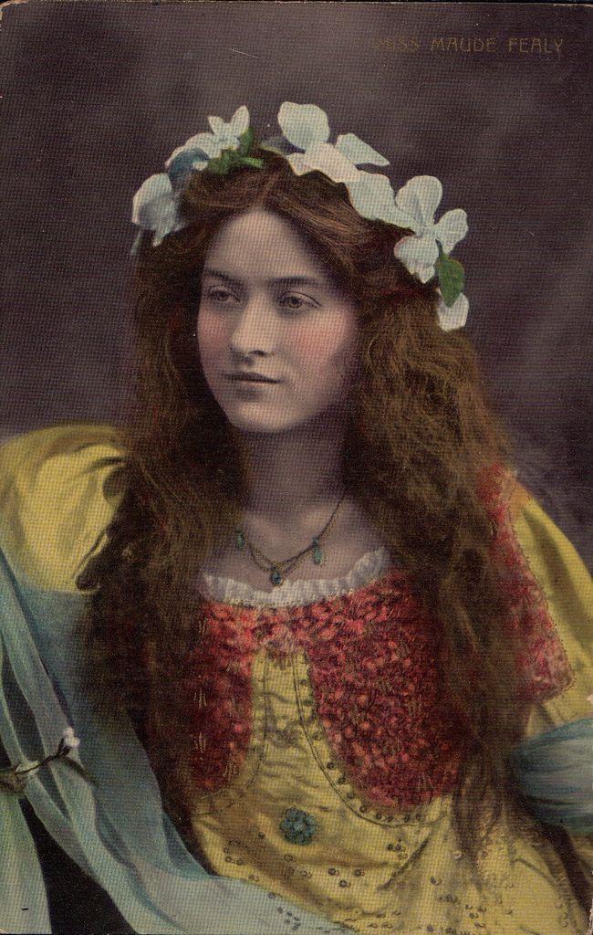 Edwardian Actress: Miss Maude Fealy (1883-1971) | Vintage