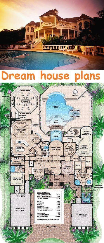 Dream House Plans Dream House Plans Minecraft House Designs House Plans Mansion