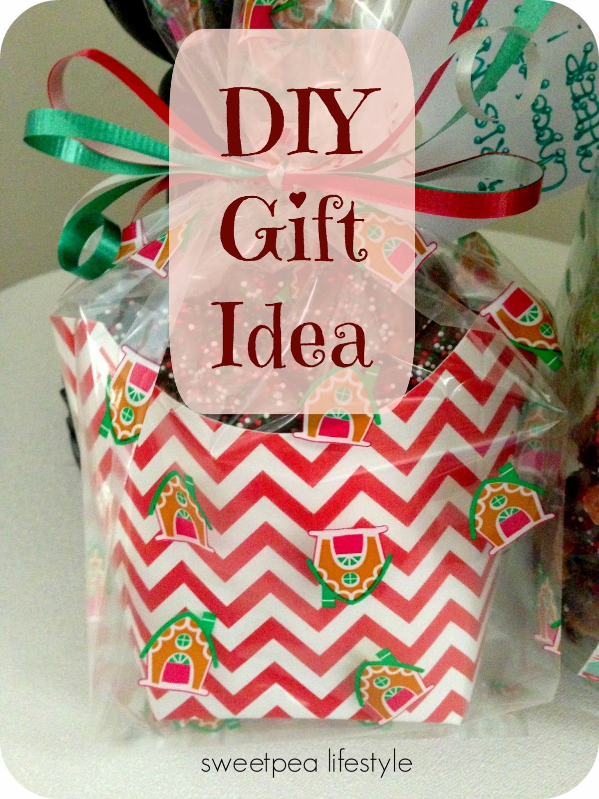 Diy Gift Idea Easy Chocolate Covered Pretzels In A Cute