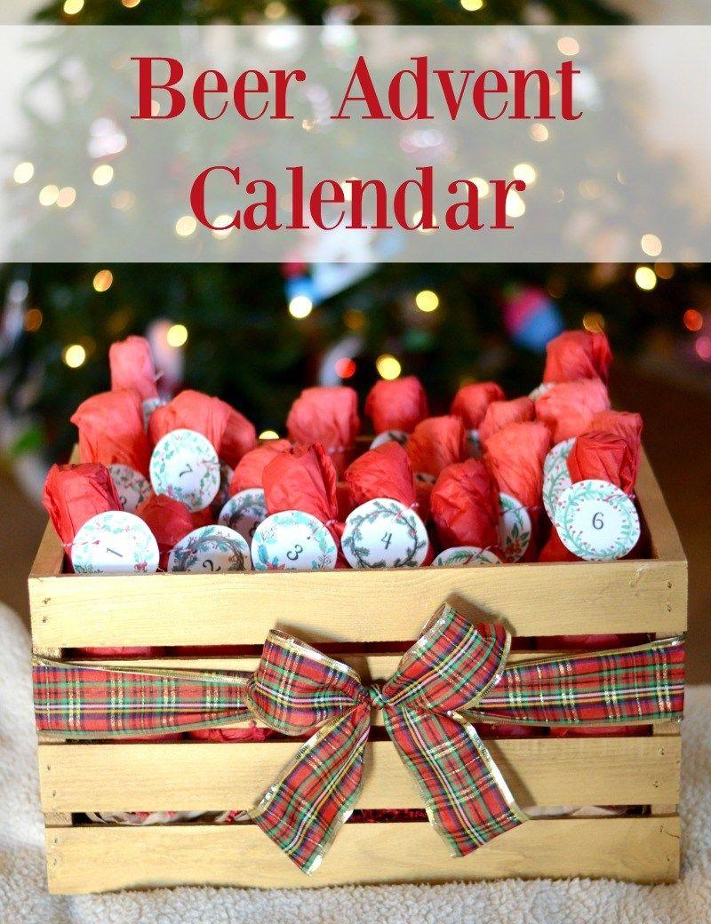 Beer Advent Calendar Beer Advent Calendar Diy Beer Advent Calendar Wine Advent Calendar