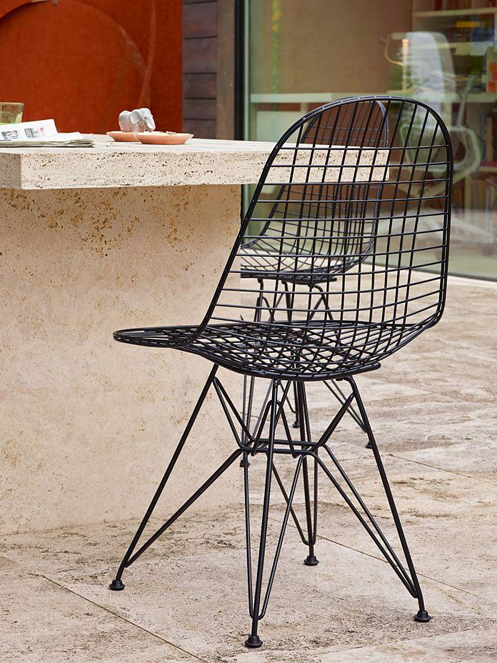 Stuhl Wire Chair DKR schwarz   Esszimmer   Pinterest   Esszimmer