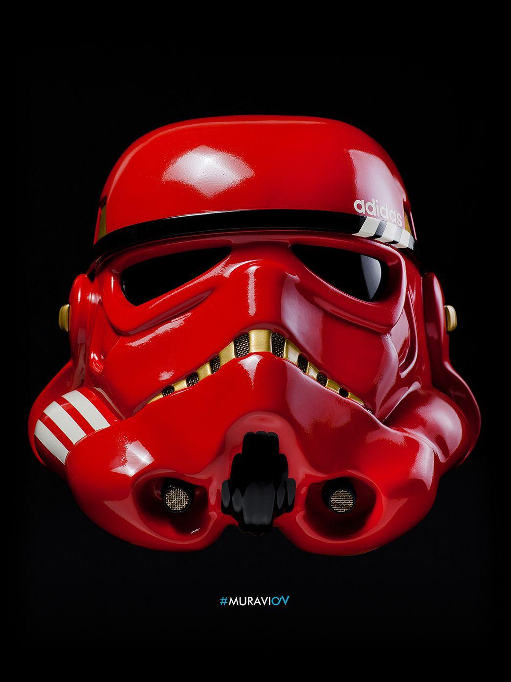 Unique Stormtrooper Starwars Helmet On Behance Star Wars Helmet Stormtrooper Star Wars