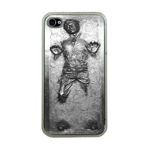 Star Wars Frozen Han Solo in Carbonite iPhone 4 Case iPhone 4s Case Cover - Clear. $15.00, via Etsy.