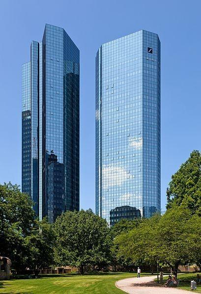 Deutsche Bank en Frankfurt. Bolsa mexicana, Arquitectura