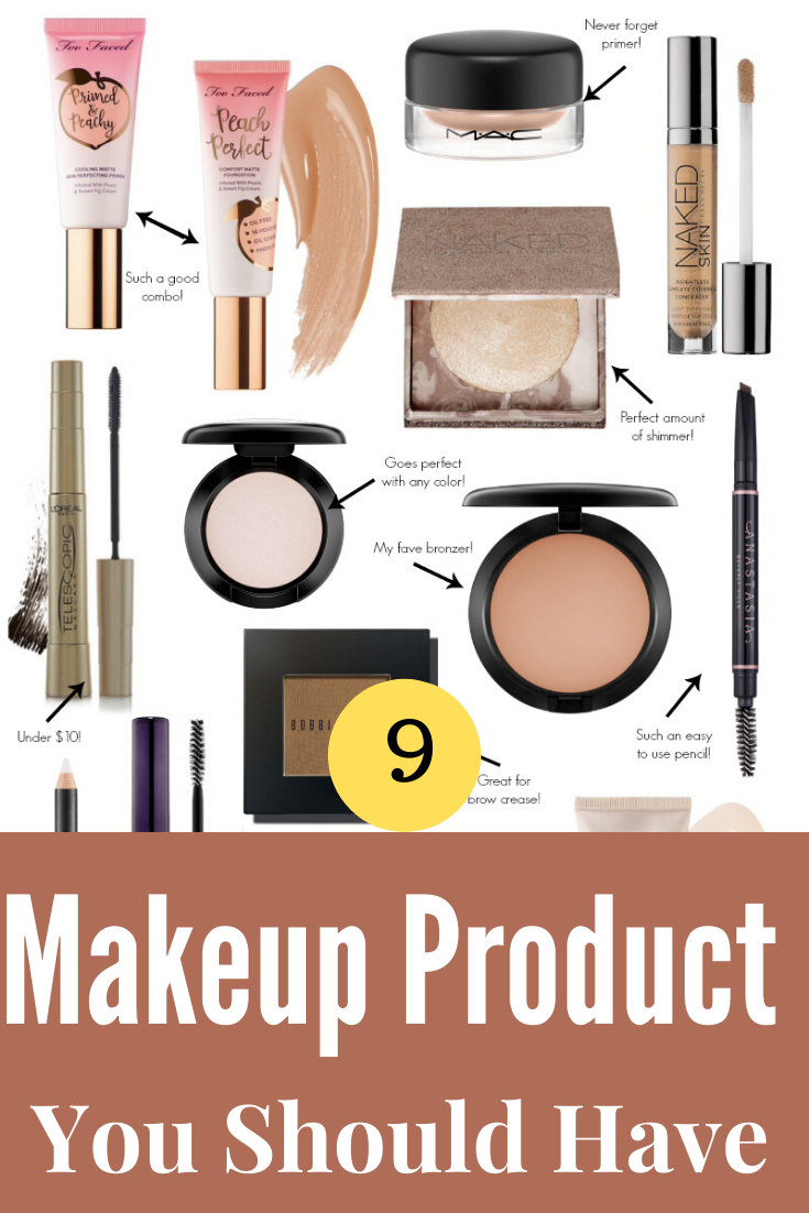 9 Essential Must Have Makeup Products For Beginners In