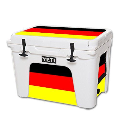 Mightyskins Protective Vinyl Skin Decal For Yeti Tundra 50 Qt Cooler Wrap Cover Sticker Skins German Flag Want To Know More C Cool Wraps Yeti Tundra Cooler
