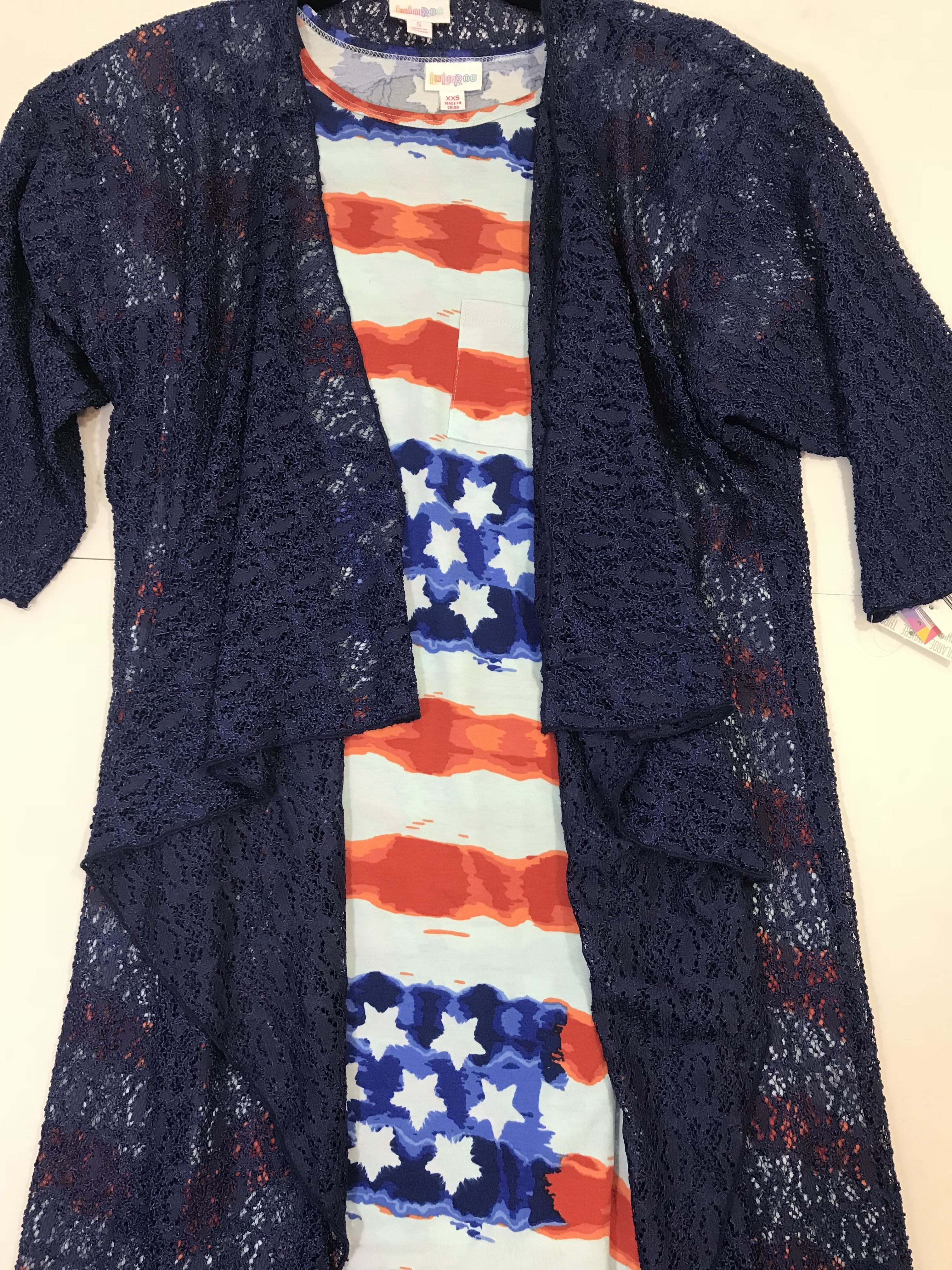 f1c88f6ffb LuLaRoe American Dreams Americana Collection outfit. Great outfit for the  4th of July or any