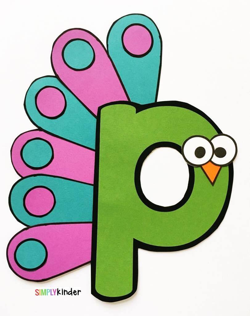 Alphabet Crafts & Printables Notebooks | Alphabet Activities ...