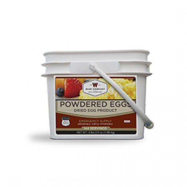Wise Food Storage Reviews $14499  144 Servings Of Wise Powdered Eggs #hanukkah #christmas
