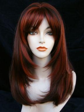 Pleasant Wigs For Long Round Faces Condition Brand New Wigs With Tag Hairstyles For Women Draintrainus