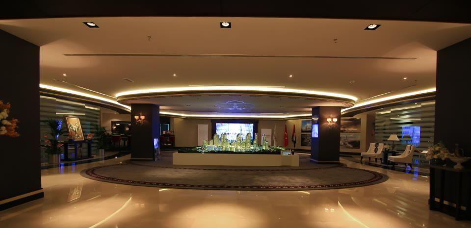 Agaoglu real estate showroom in dubai top interior design companies ck architecture also rh za pinterest