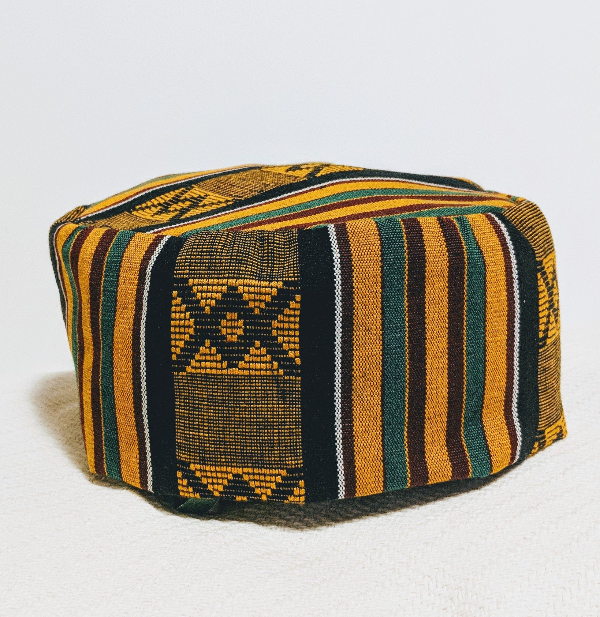 Kufi Hat Etsy Kente Cloth African Fabric Hat Making